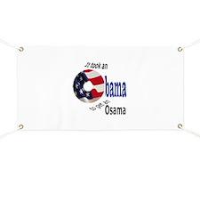 Obama Gets Osama Banner