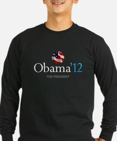 Obama '12 Long Sleeve T-Shirt