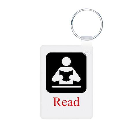 Read Aluminum Photo Keychain
