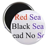 Israel Red Black Dead Seas Magnet