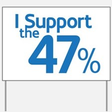 I Support the 47% Yard Sign