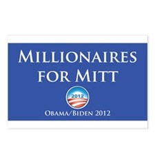 Millionaires for Mitt Postcards (Package of 8)