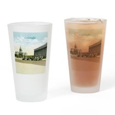 Vintage Colorado State Capitol Drinking Glass