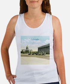 Vintage Colorado State Capitol Women's Tank Top