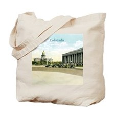 Vintage Colorado State Capitol Tote Bag