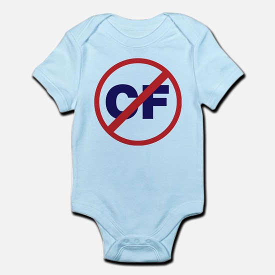 Say NO to Cystic Fibrosis Infant Bodysuit