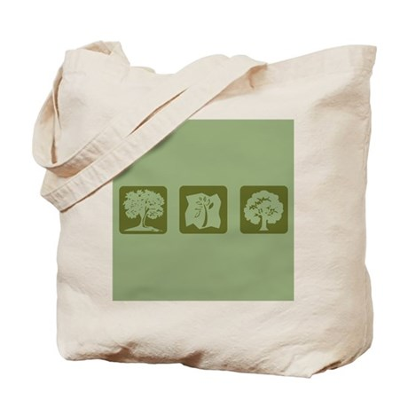 Three Tree Tote Bag