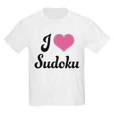 I Love Sudoku T-Shirt