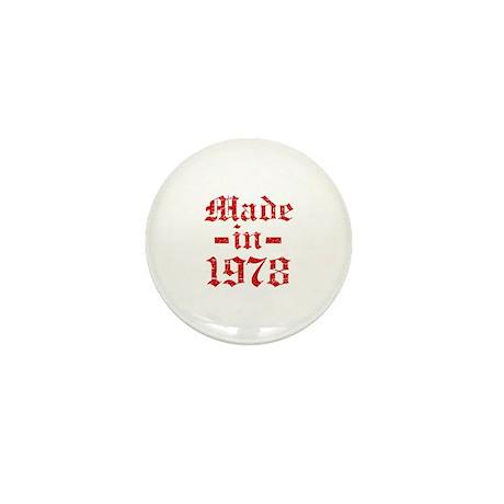 Made In 1978 Mini Button