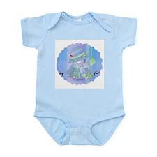 Snowgirl (blue) Infant Creeper