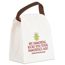 My Immortal Canvas Lunch Bag