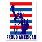 PROUD AMERICAN Small Poster
