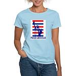 PROUD AMERICAN Women's Pink T-Shirt
