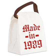 Made In 1989 Canvas Lunch Bag