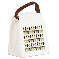 StingOPugsLong.bmp Canvas Lunch Bag