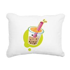 Boba Tea Rectangular Canvas Pillow