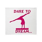 Gymnastics Throw Blanket - Dream