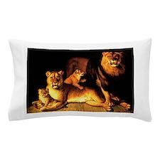 The Lion Family Pillow Case