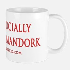 Socially Awkward Mandork Mug