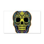 Colorful skull 20x12 Wall Decal