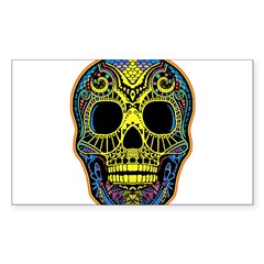 Colorful skull Decal
