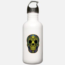 Colorful skull Water Bottle