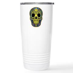 Colorful skull Stainless Steel Travel Mug