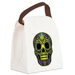 Colorful skull Canvas Lunch Bag