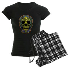 Colorful skull Pajamas