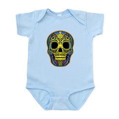 Colorful skull Infant Bodysuit