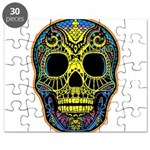 Colorful skull Puzzle