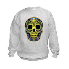 Colorful skull Sweatshirt