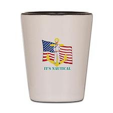 Its Nautical Shot Glass