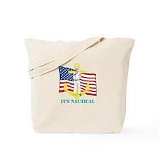 Its Nautical Tote Bag