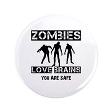 "Cool Funny T shirts 3.5"" Button"
