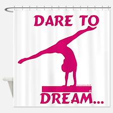 Gymnastics Shower Curtain - Dream