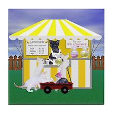 Devon Country Fair Lemonade Tile Coaster