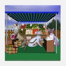Devon Country Fair Produce Tile Coaster