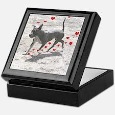Unique Bully breed rescue Keepsake Box