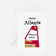 Atlanta Greeting Card