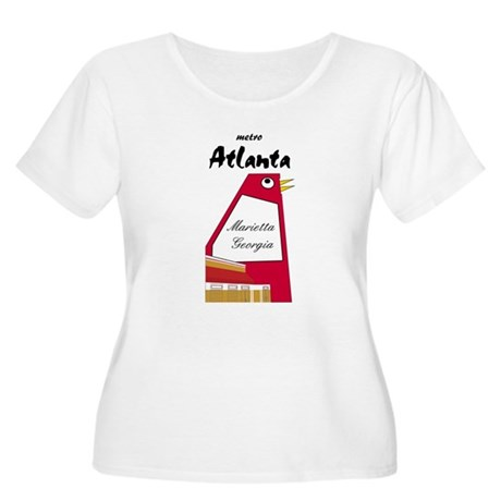 Atlanta Women's Plus Size Scoop Neck T-Shirt