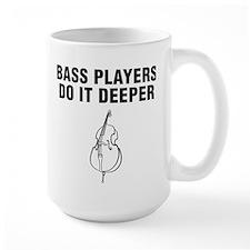 Bass Players Do It Deeper Mug