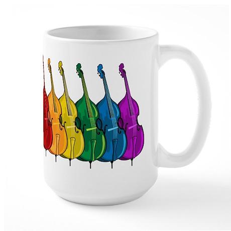 Double Bass Large Mug