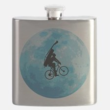 Cycling In Moonlight Flask