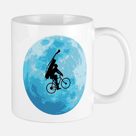 Cycling In Moonlight Mug