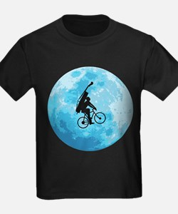 Cycling In Moonlight T