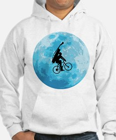 Cycling In Moonlight Hoodie