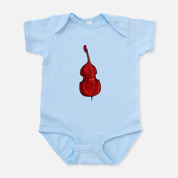 Double Bass Infant Bodysuit