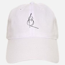 Double Bass Baseball Baseball Cap