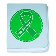 Mito Research Green Ribbon baby blanket